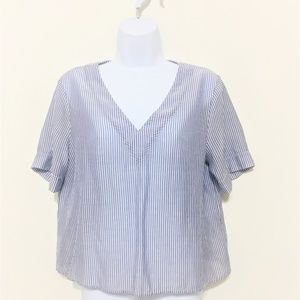 A New Day Pinstripe Top